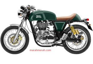 Enfield Continental GT Green