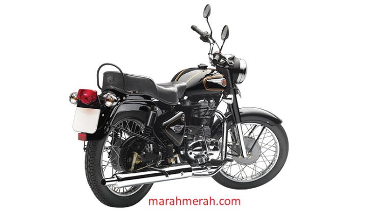 Royal Enfield Bullet 350 Behind View