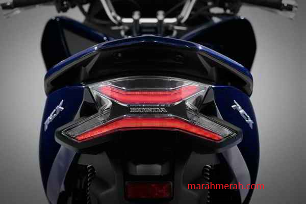 All New Honda PCX 2018 Hybrid Belakang