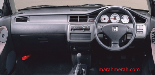 Dashboard Civic 90an