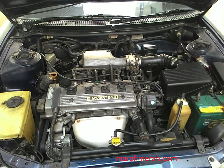 Great Corolla Engine View