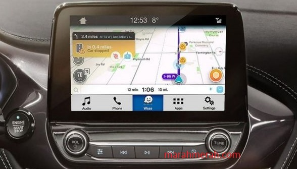 Multimedia interface Ford Edge