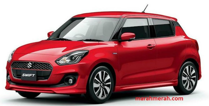 Suzuki All New Swift 2019 Red