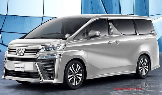 New Toyota Vellfire 2018 Front View