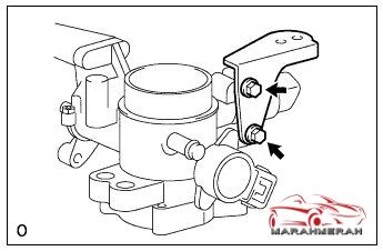 Memasang Throttle Body AVANZA