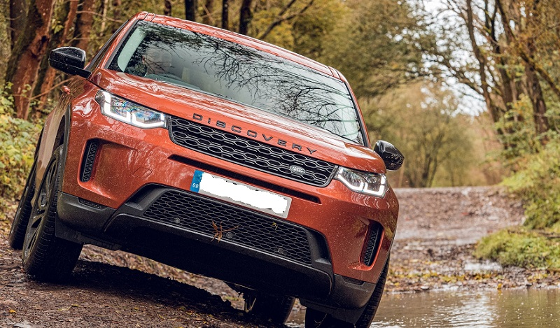 Land Rover Discovery Sport View